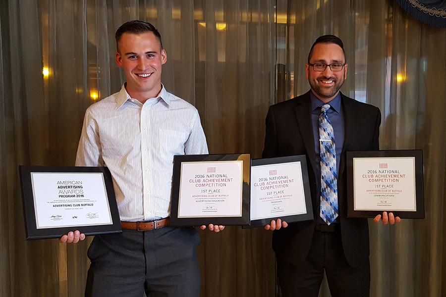 AAF Buffalo club achievement awards